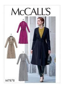 McCall's pattern M7878 Jacket and Belt