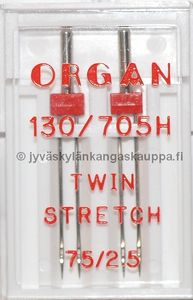 ORGAN TWIN STRETCH 75/2,5 2kpl