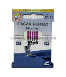 ORGAN microtex needles 80/12