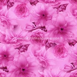 Digital jersey Pink Sakura Flower (70cm cut)