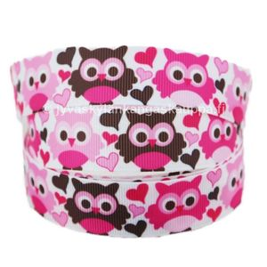 Ribbon Owl Pink and Brown