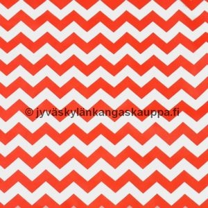 PUL fabric zig zag orange (70cm cut)