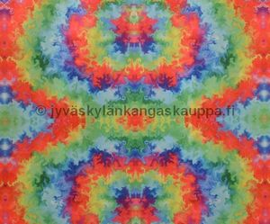 PUL fabric Rainbow Waters