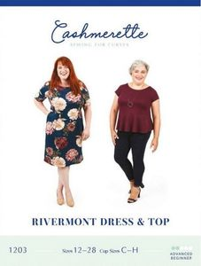 Cashmerette 1203 Rivermont Dress and Top