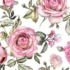 Digital jersey Romantic Roses