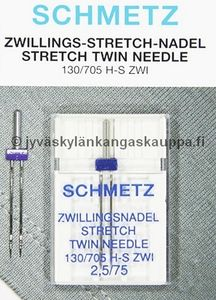 SCHMETZ TWIN STRETCH 2,5/75