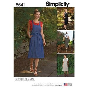Simplicity Pattern S8641 Jumper Dress