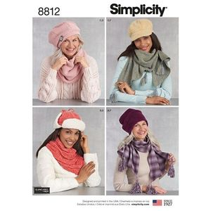 Simplicity Pattern S8812 Accessories