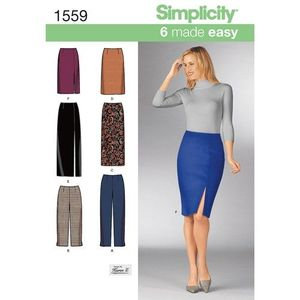 Simplicity Pattern S1559 Skirts and Pants