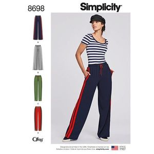 Simplicity Pattern S8698 Pull-On Pants
