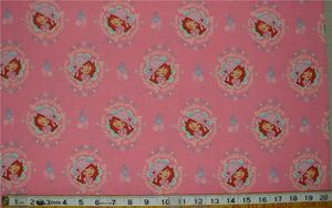 PUL waterproof fabric, Berry pink