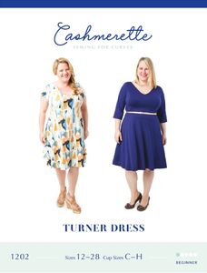 Cashmerette kaava 1202 Turner Dress