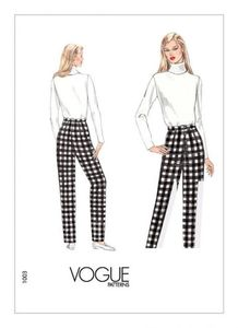 Vogue pattern V1003 PANTS FITTING SHELL