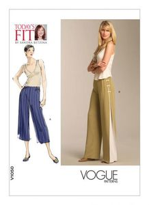 Vogue pattern V1050 FLARED PANTS