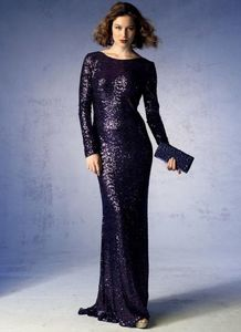 Vogue pattern V1374 BACK-DRAPE DRESS