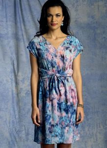 Vogue pattern V1395 WAIST-TIE DRESS