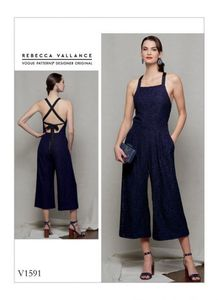 Vogue pattern V1591 PETITE JUMPSUIT