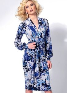 Vogue pattern V8825 BISHOP SLEEVE TUNIC, DRESS AND PANTS