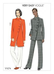 Vogue V9274 Jacket and pull-on pants