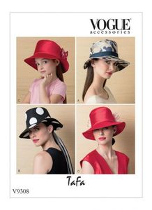 Vogue V9308 MISSES' AND CHILDREN'S HATS