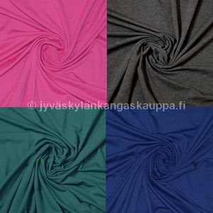 1-colour viscose jersey