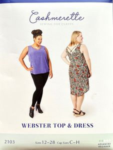 Cashmerette kaava 2103 Webster Top and Dress