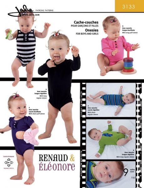 JAlie 3133 Bodysuits for babies