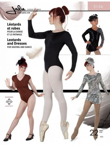 Jalie 3136 Leotards and dresses