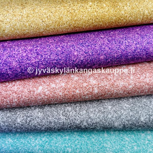 Digiprinttitrikoo Glitter Gold