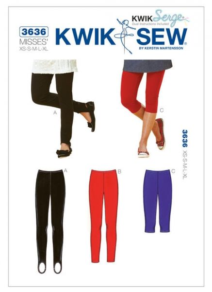 Kwik SEW K3636 Leggings