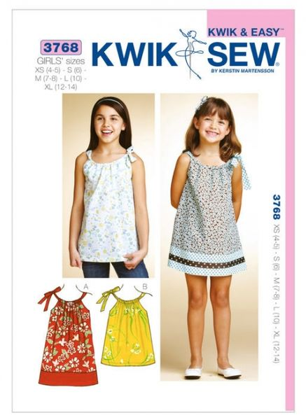 Kwik SEW K3768 Top and dress