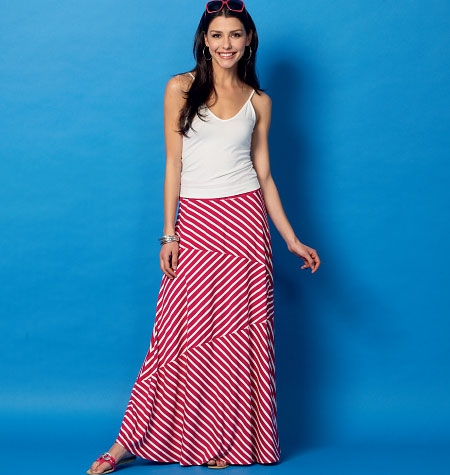 McCall's M6966 Knit Skirts