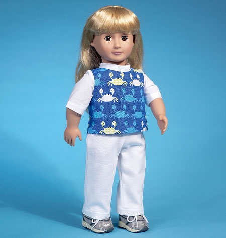 "McCall's M7106 Clothes for 18"" dolls"