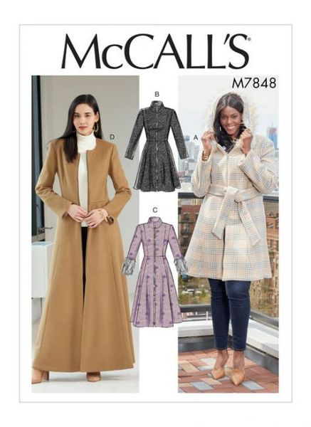 McCall's pattern M7848 Coats and Belt