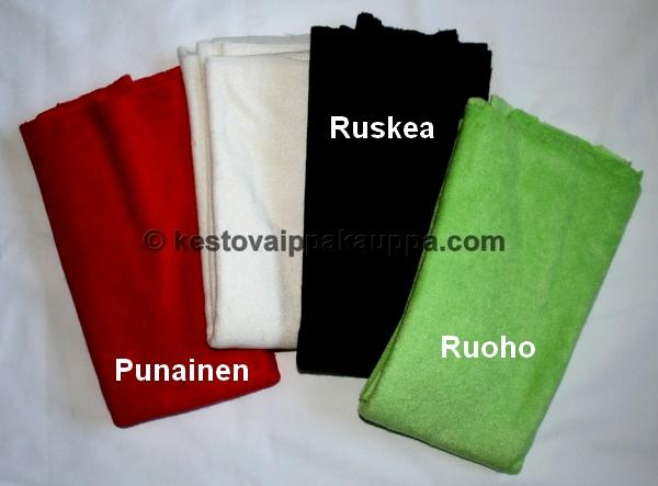 Finnish tencel stretch terry RED