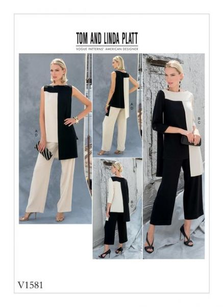 Vogue V1581 Tunic and pants